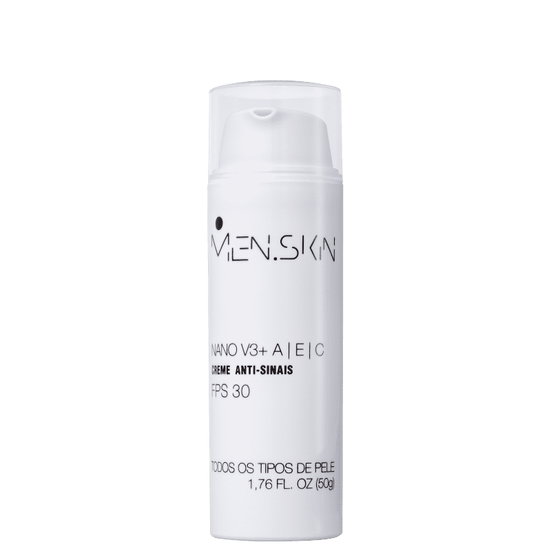 Creme Anti-Idade Men.Skin Nano V3+ 50ml