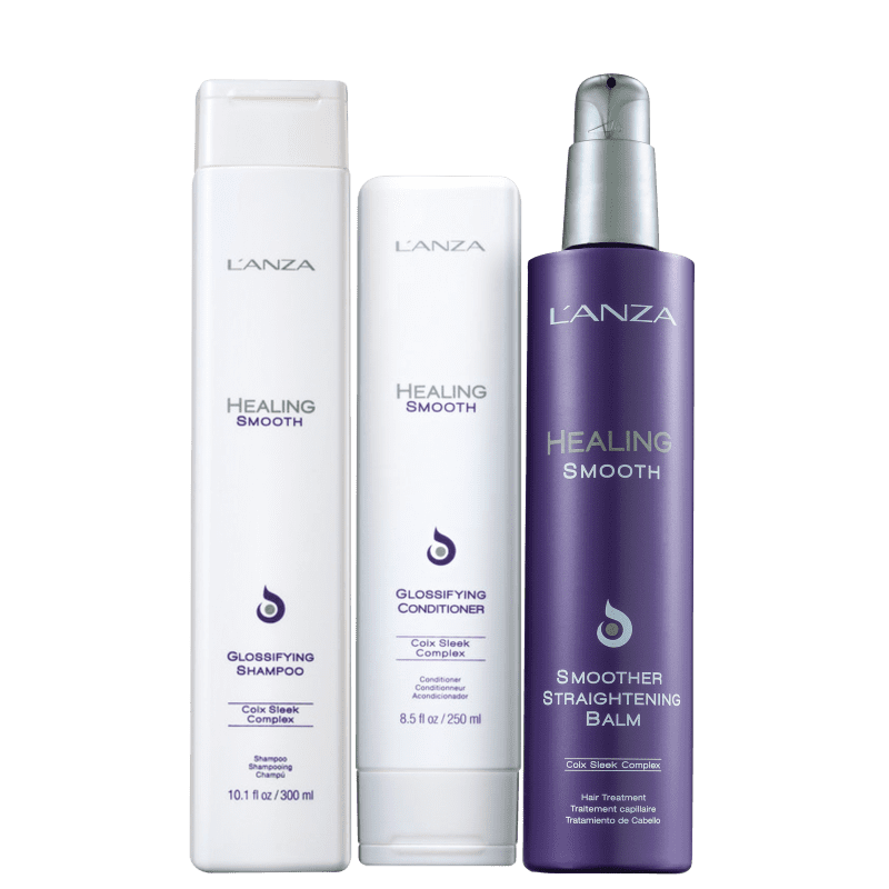 Kit L'Anza Healing Smooth Straight (3 Produtos)
