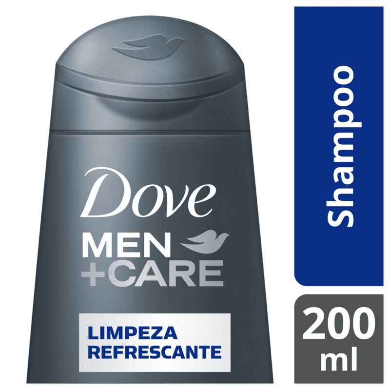 Shampoo Dove Men+Care Limpeza Refrescante 200ml