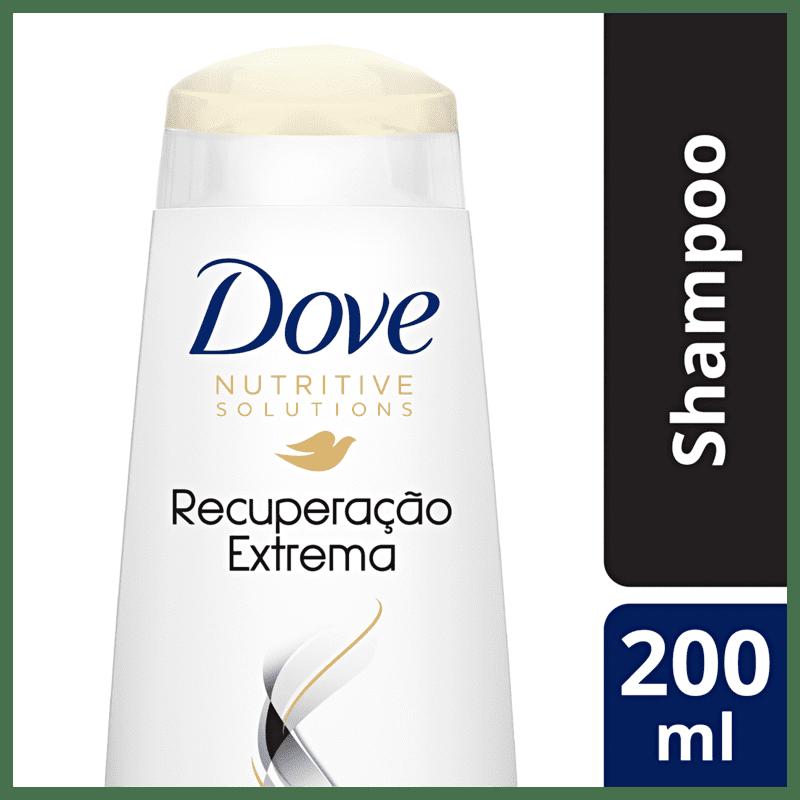 Shampoo Dove Recuperação Extrema 200ml