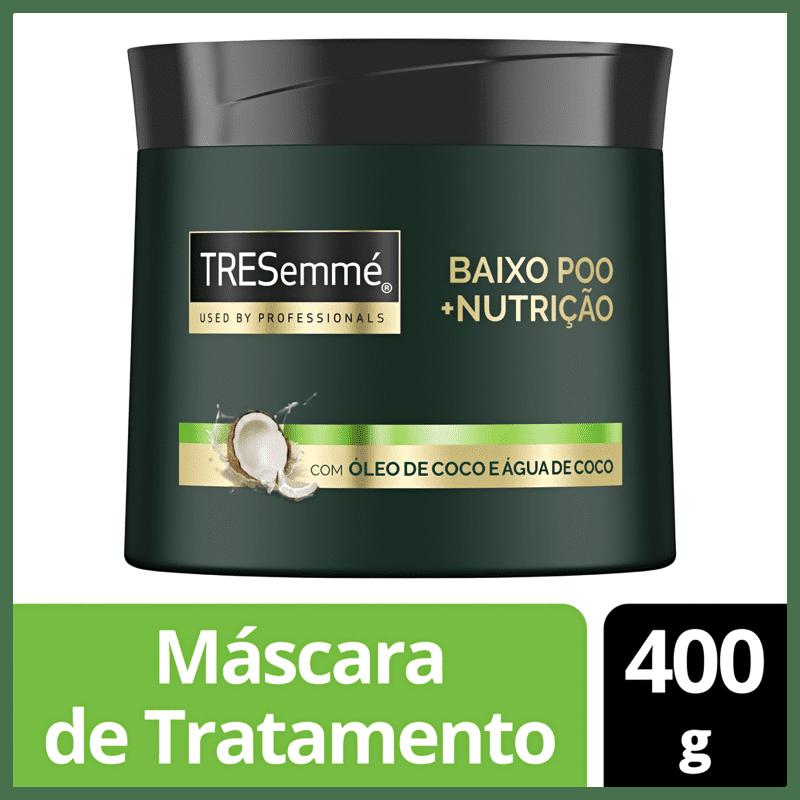 Máscara Capilar TRESemmé Baixo Poo + Nutrição 400g