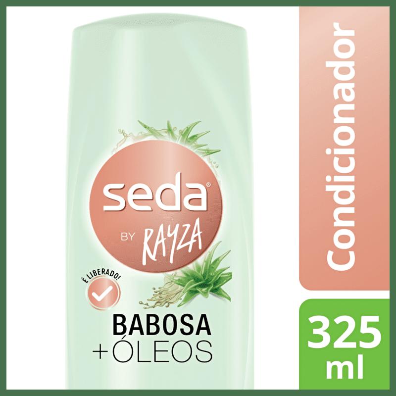 Condicionador Seda By Rayza Babosa + Óleos 325ml