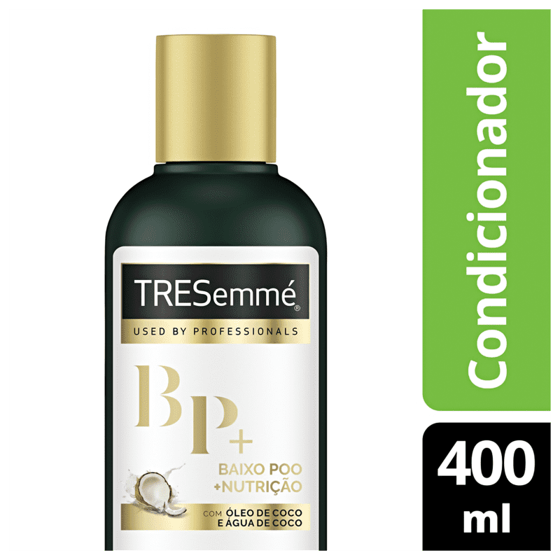 Tresemmé Baixo Poo + Nutrição - Condicionador 400ml
