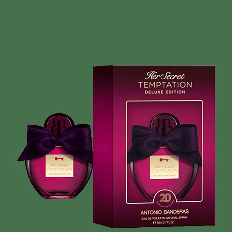 Her Secret Temptation Deluxe Edition Antonio Banderas Eau de Toilette - Perfume Feminino 80ml