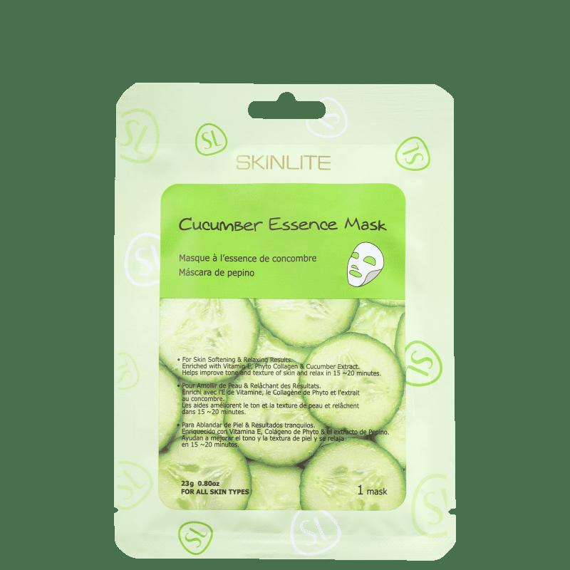 Skinlite Cucumber Essence - Máscara Facial (1 unidade)