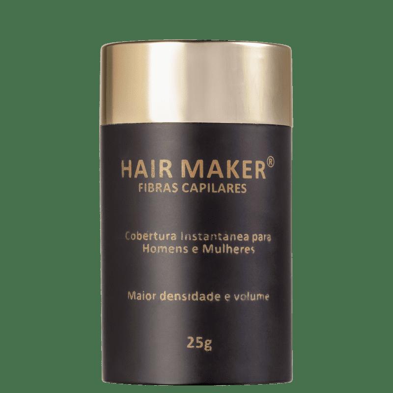 Hair Maker Castanho Escuro - Fibra Capilar 25g