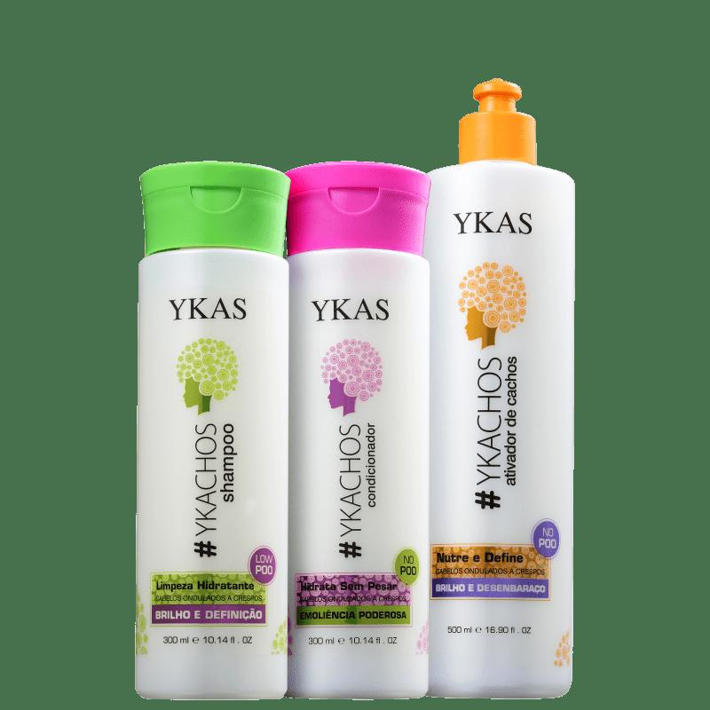 Kit YKAS #Ykachos Ativa! (3 Produtos)