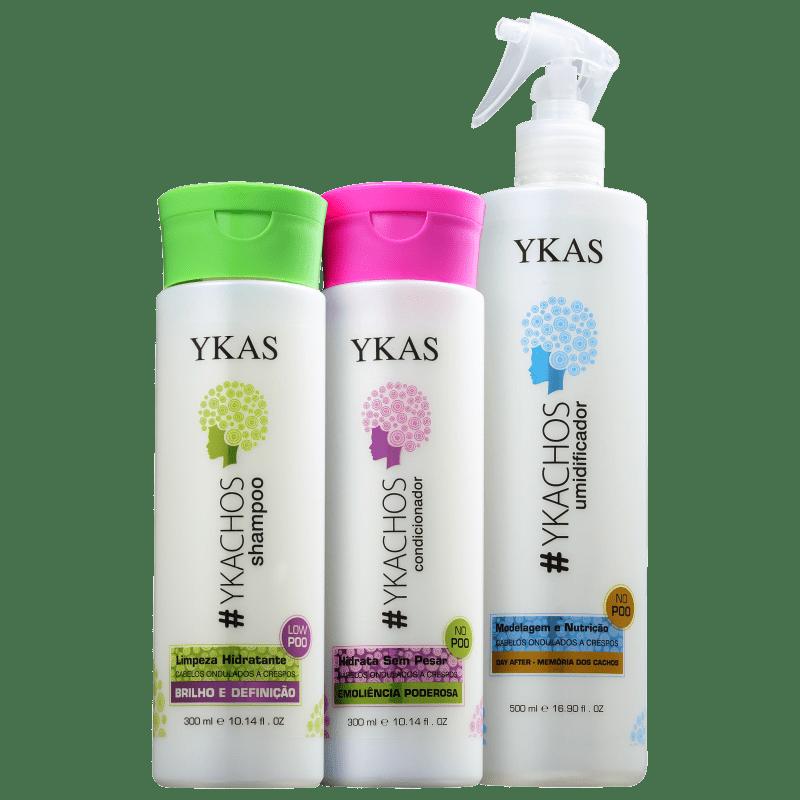 Kit YKAS #Ykachos Day After (3 Produtos)