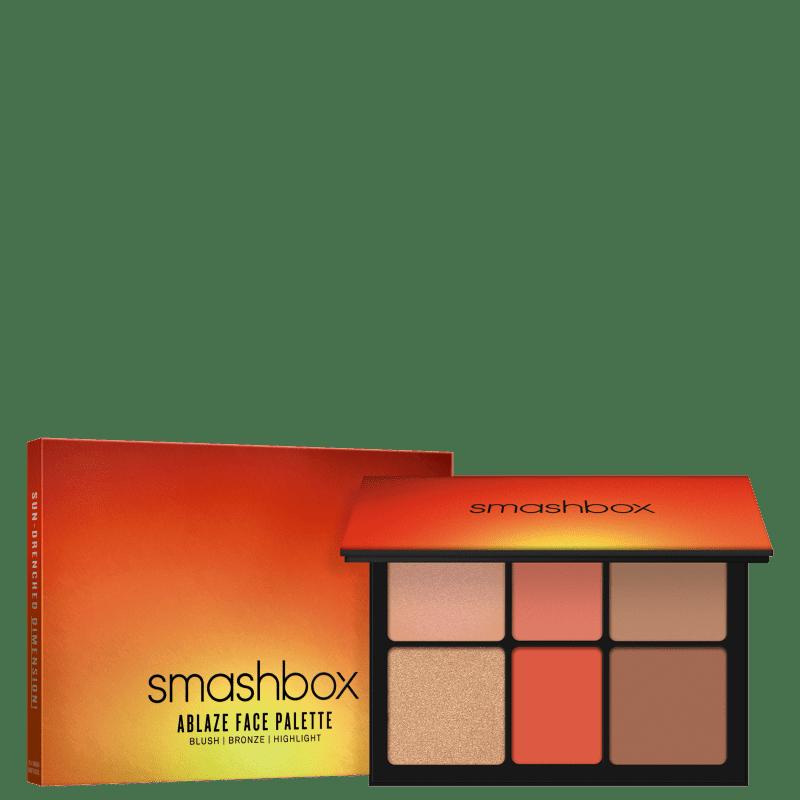 Smashbox Ablaze Face - Paleta de Contorno 21,54g