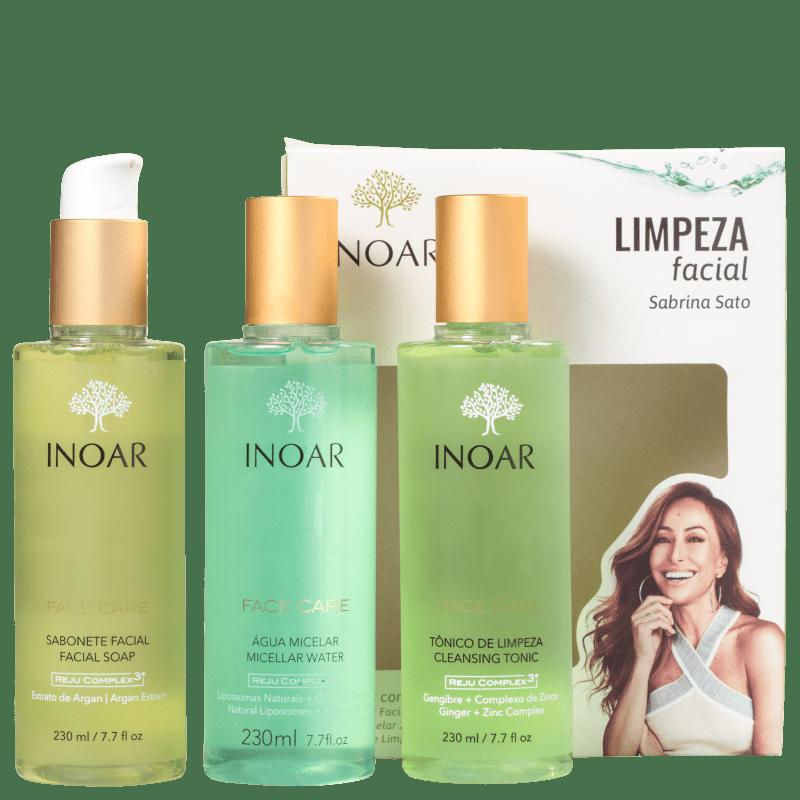 Kit Inoar Dermo Sabrina Sato Limpeza Facial (3 Produtos)