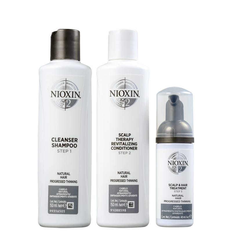 Kit Nioxin System 2 Small (3 Produtos)