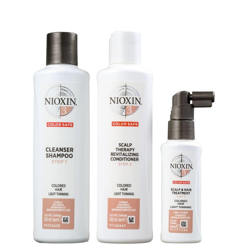Kit Nioxin System 3 Small (3 Produtos)