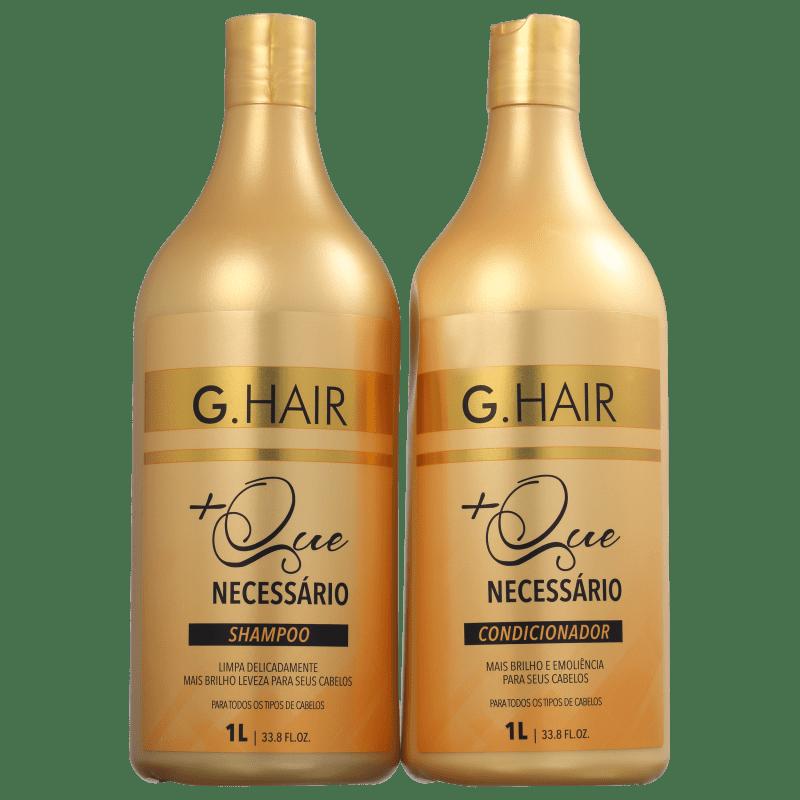 Kit G.Hair +Que Necessário Duo Salão (2 Produtos)