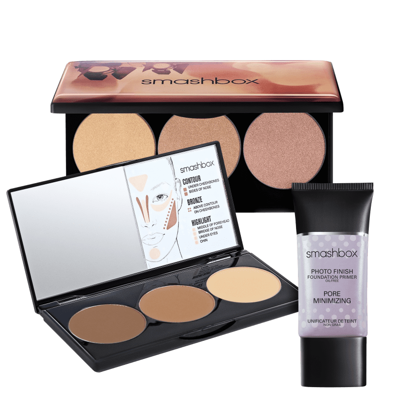 Kit Smashbox Photo Finish Spotlight Contour (3 Produtos)