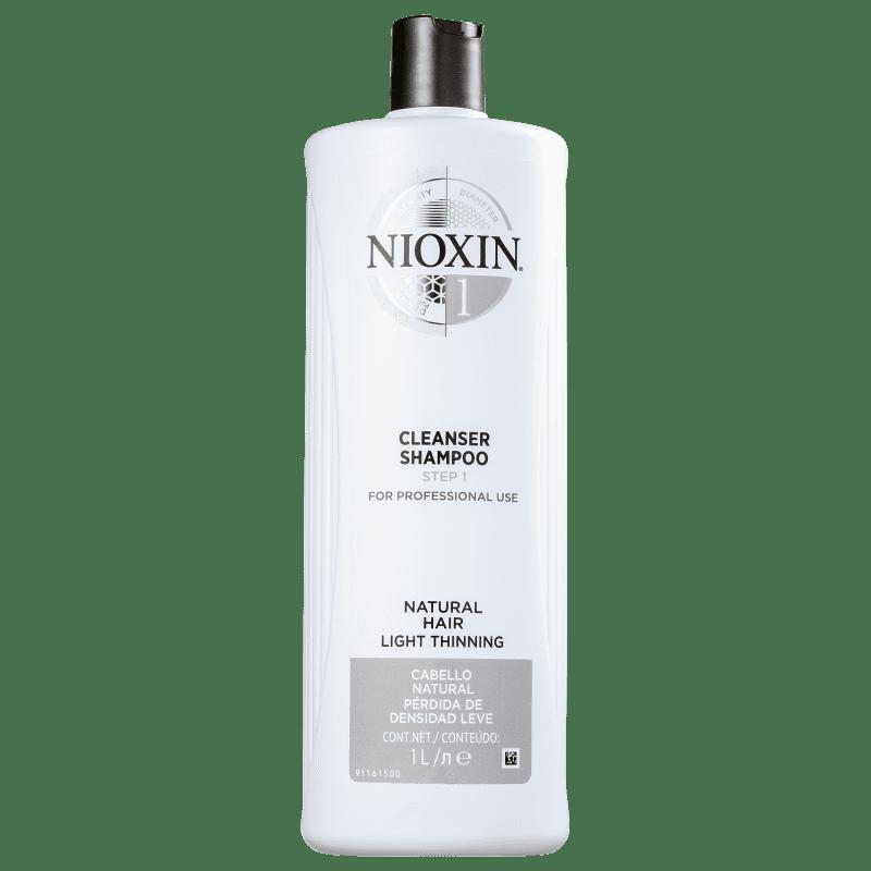 Nioxin System 1 Cleanser - Shampoo 1000ml