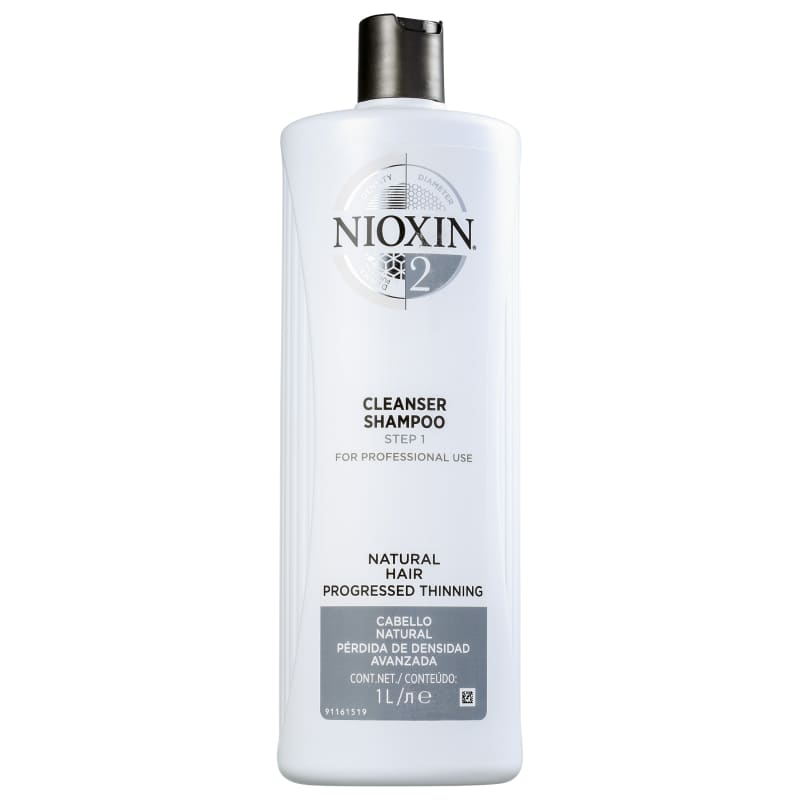 Nioxin System 2 Cleanser - Shampoo 1000ml