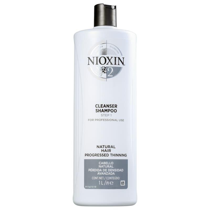 Nioxin System 2 Cleanser - Shampoo Antiqueda 1000ml