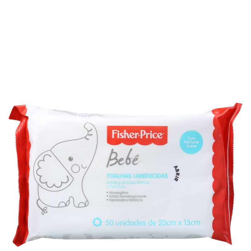 Fisher-Price Bebê com Perfume - Lenços de Limpeza (50 unidades)