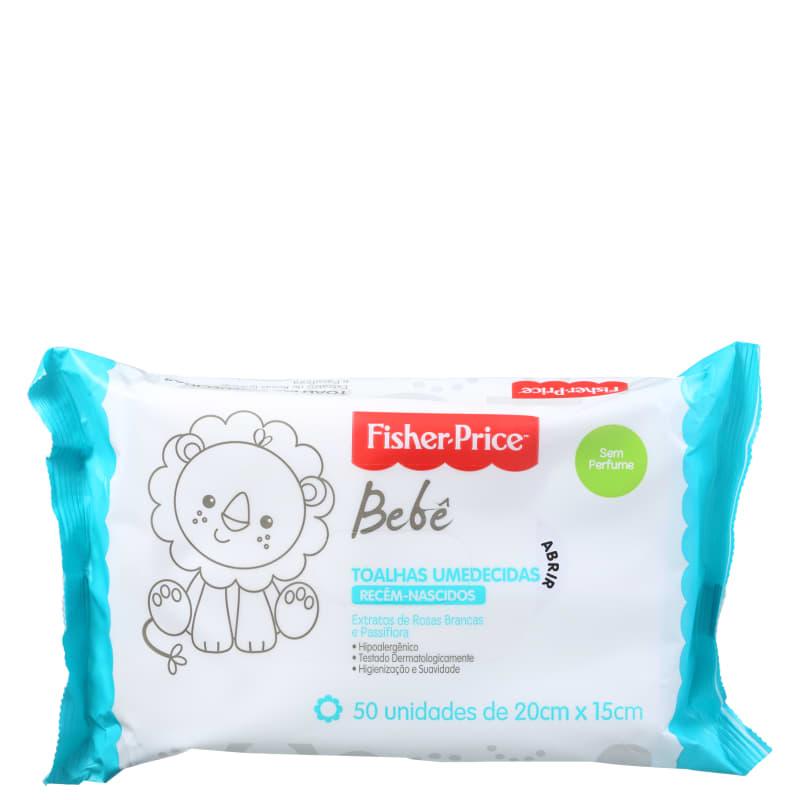Fisher-Price Bebê Sem Perfume - Lenços de Limpeza (50 unidades)