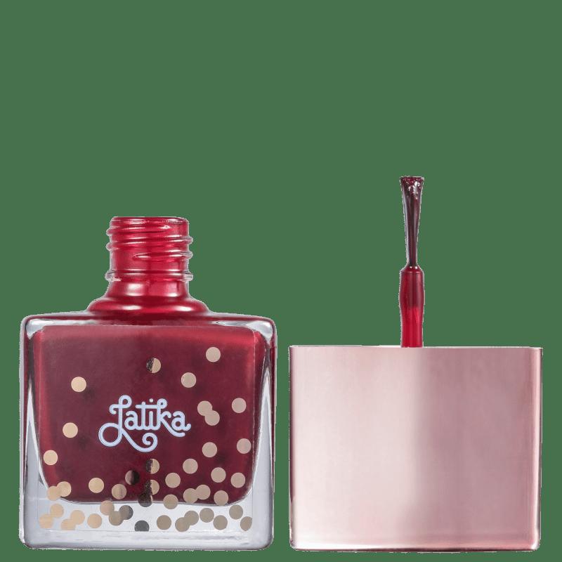 Latika Confetti Wine - Esmalte Cremoso 9ml