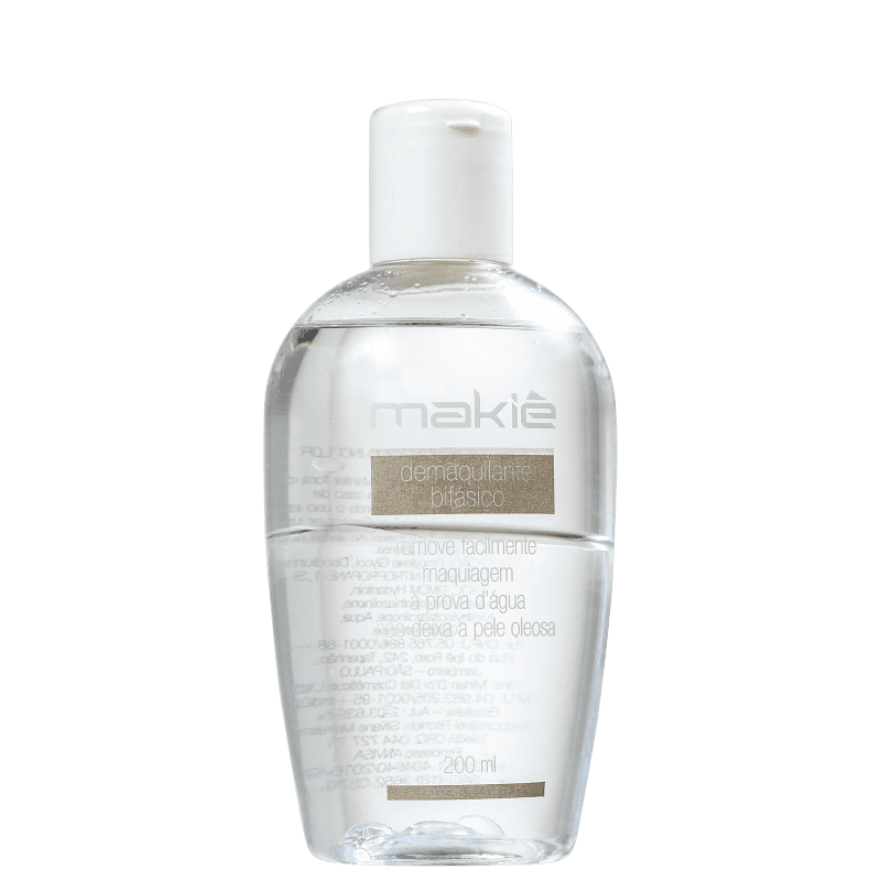 Makiê Bifásico - Demaquilante 200ml
