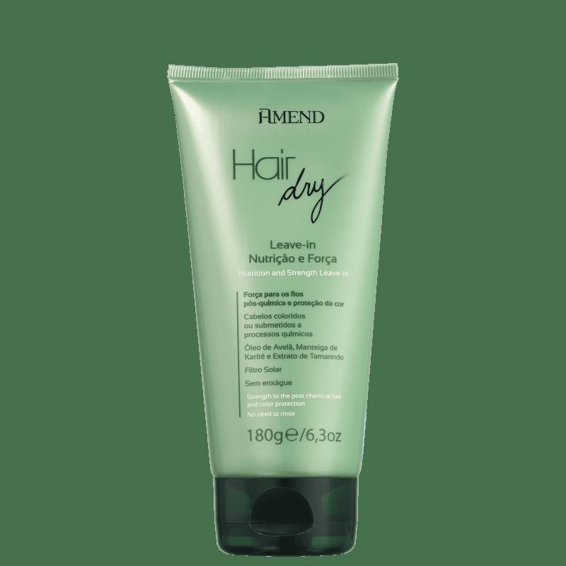 Amend Hair Dry Nutrição e Força - Leave-in 180g