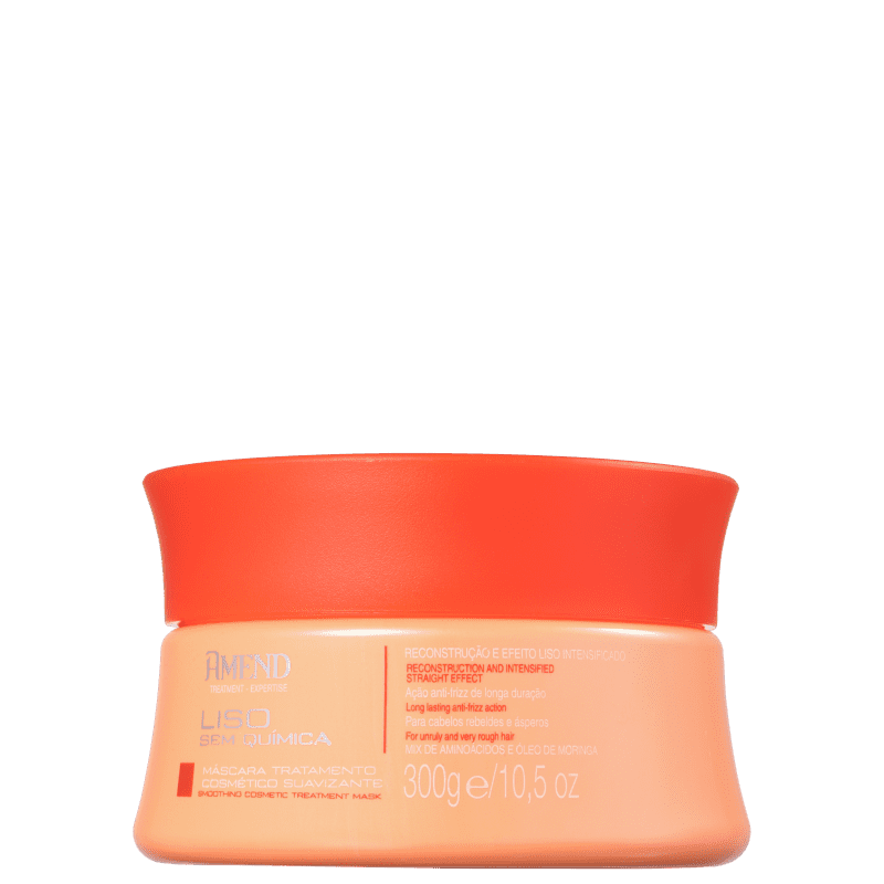 Amend Liso Sem Química Suavizante - Máscara Capilar 300g