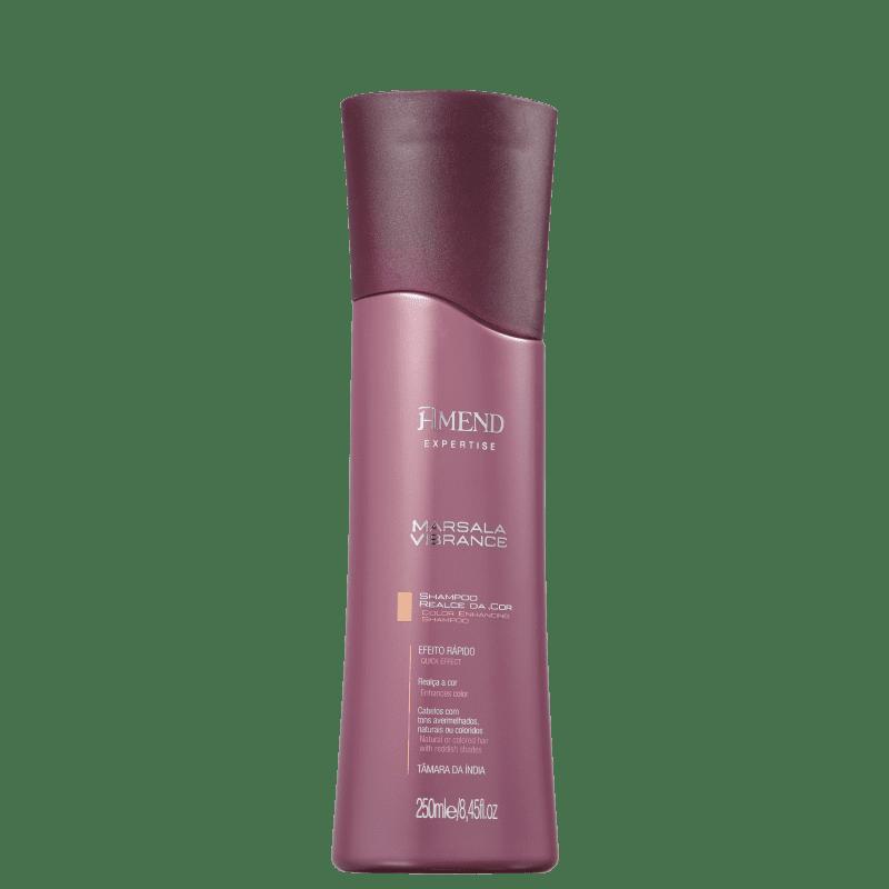 Amend Marsala Vibrance Realce da Cor - Shampoo 250ml