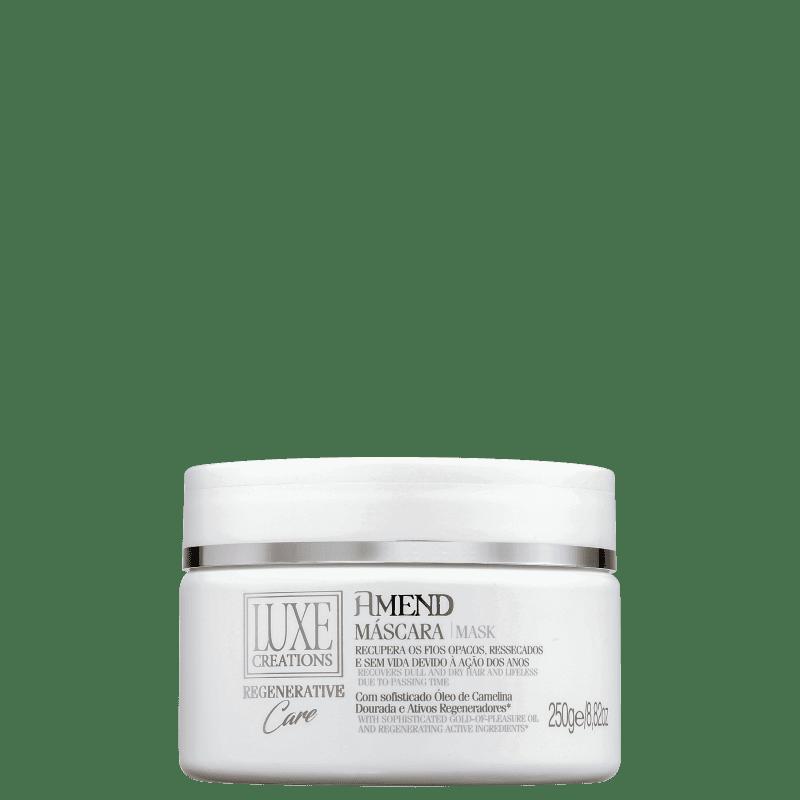 Amend Luxe Creations Regenerative Care - Máscara Capilar 250g