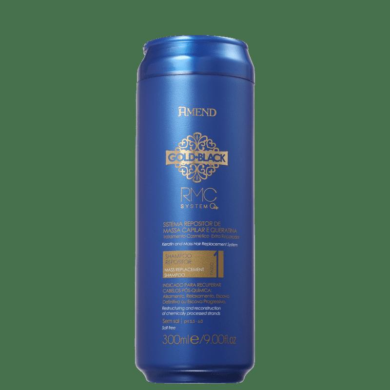 Amend Gold Black RMC System Q+ - Shampoo 300ml