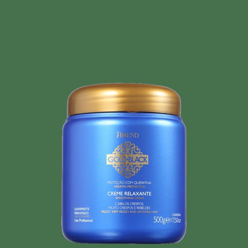 Amend Gold Black - Creme Alisante 500g