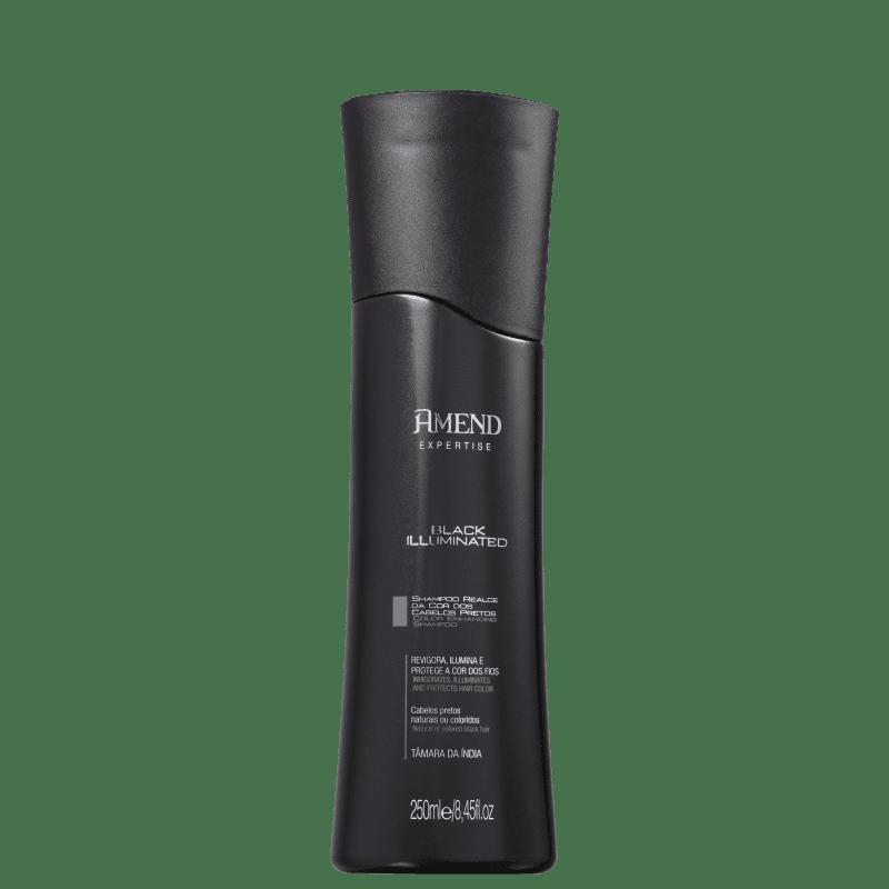 Amend Black Illuminated Realce da Cor - Shampoo 250ml