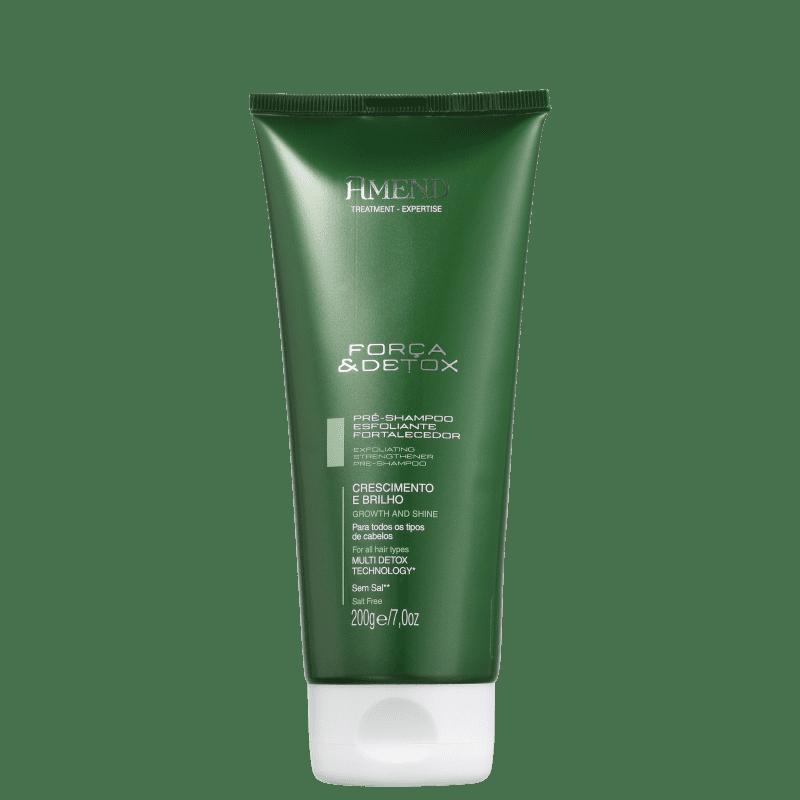 Amend Força e Detox - Pré-Shampoo Esfoliante 200g