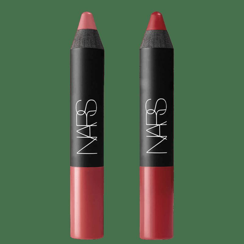 Kit NARS Mini Velvet Matte Lip Pencil Cruella e Dolce Vitta (2 Produtos)
