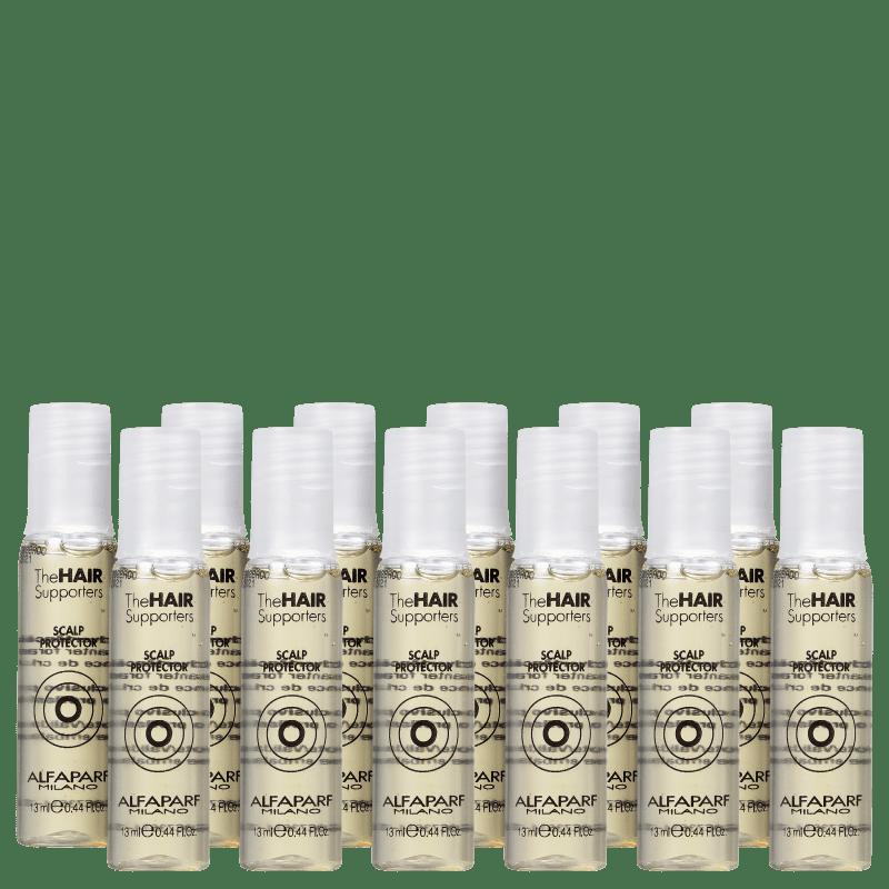 Alfaparf The Hair Supporters Scalp Protector - Ampola para Couro Cabeludo 12x13ml