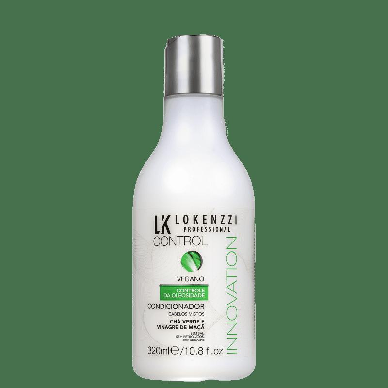 Lokenzzi Vegano Chá Verde e Vinagre de Maçã - Condicionador 320ml