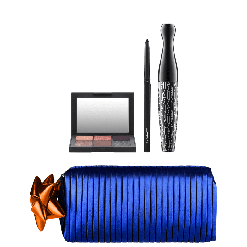 Kit M·A·C Shiny Pretty Things Goody Bag Smoky Eyes (3 Produtos + Nécessaire)