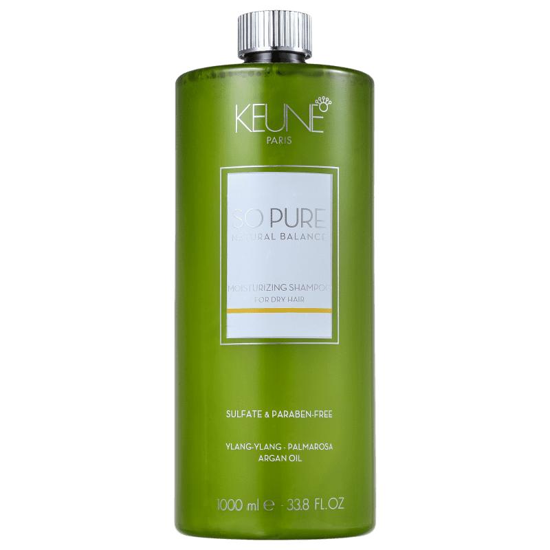 Keune So Pure Moisturizing - Shampoo sem Sulfato 1000ml
