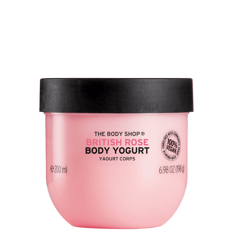 The Body Shop Yogurt British Rose - Creme Hidratante Corporal 200ml