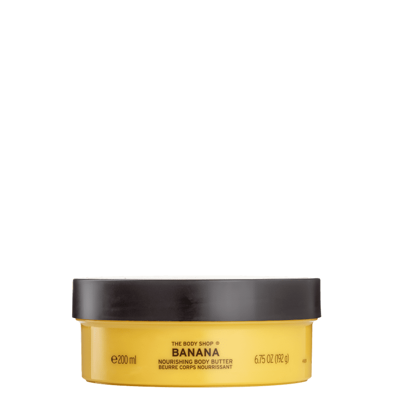 The Body Shop Banana - Manteiga Hidratante Corporal 200ml