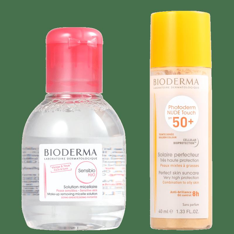 Kit Bioderma Photoderm Sensibio Dourado (2 Produtos)