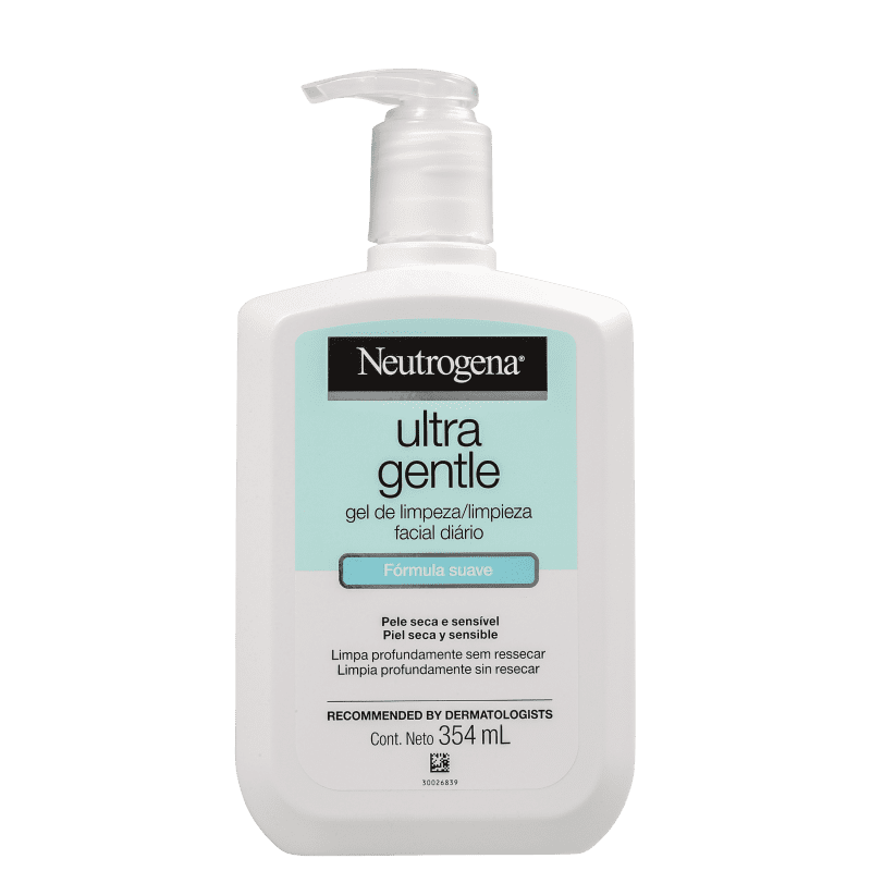 Neutrogena Ultra Gentle - Gel de Limpeza Facial 354ml