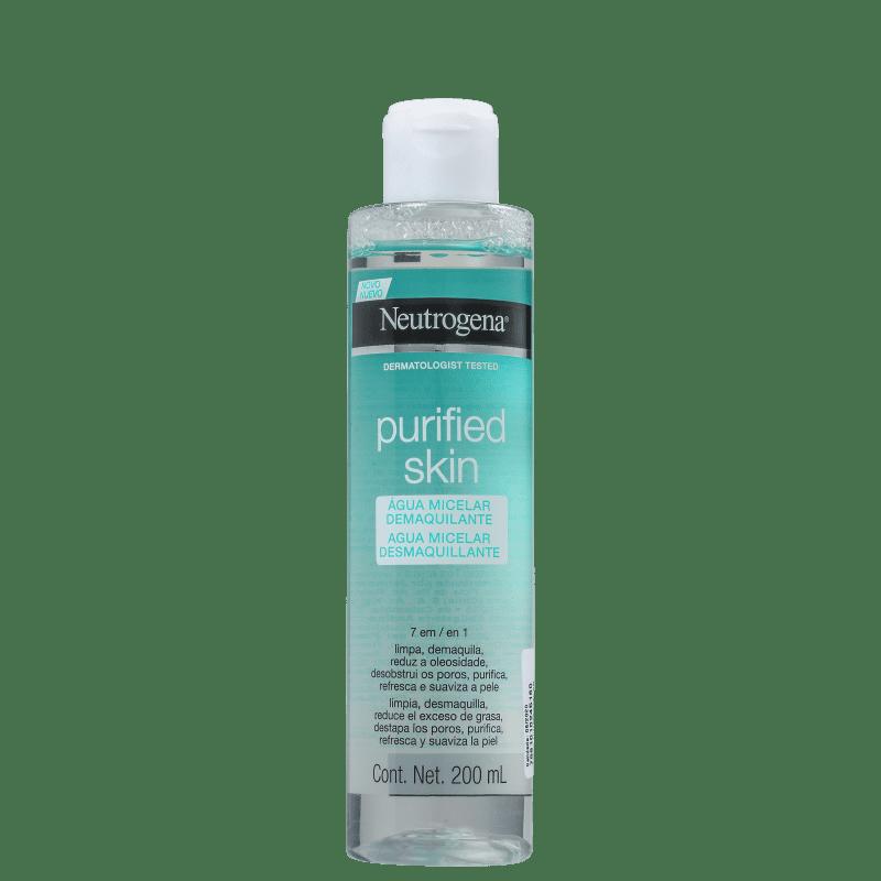 Neutrogena Purified Skin 7 Em 1 - Água Micelar 200ml