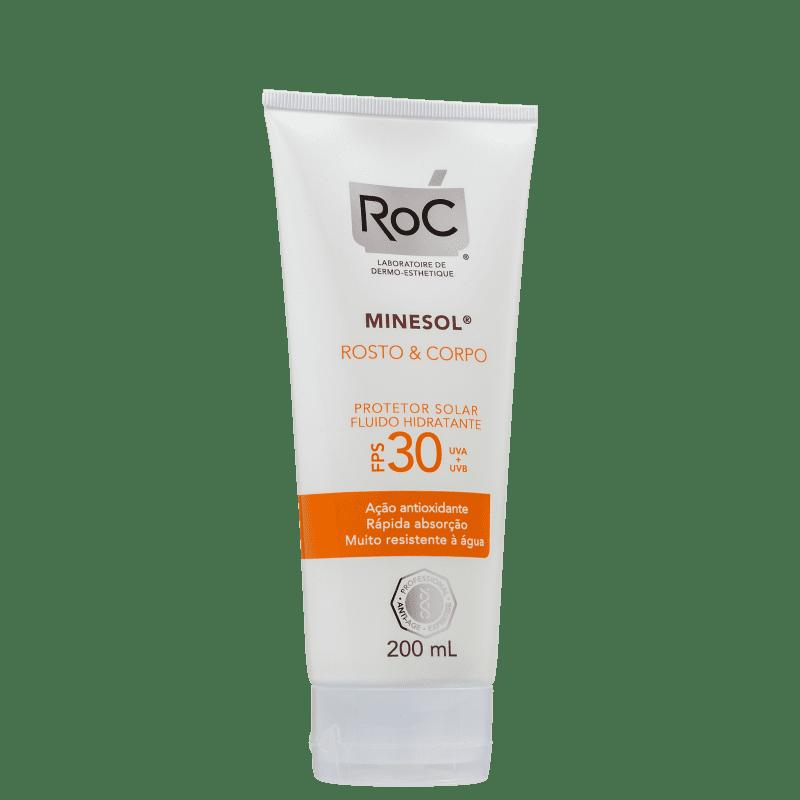 RoC Minesol Rosto & Corpo FPS30 - Protetor Solar 200ml