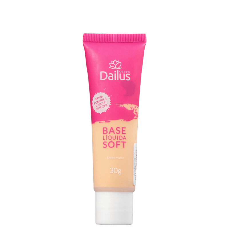 Dailus Soft 04 Bege Claro - Base Líquida 30g
