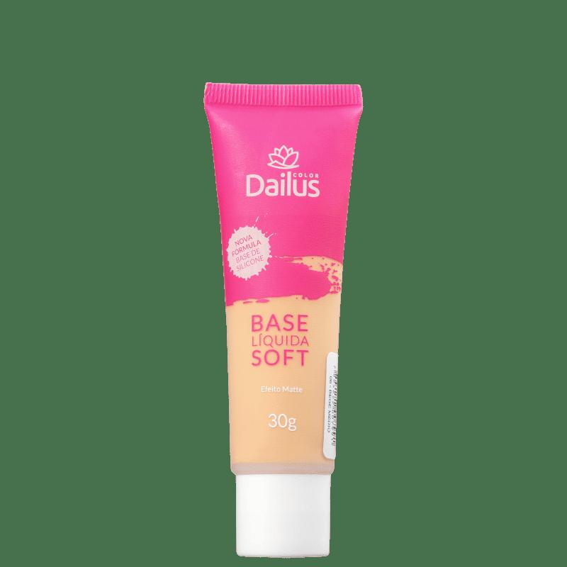 Dailus Soft 06 Bege Médio - Base Líquida 30g