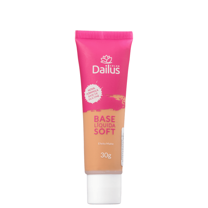 Dailus Soft 10 Marrom Claro - Base Líquida 30g