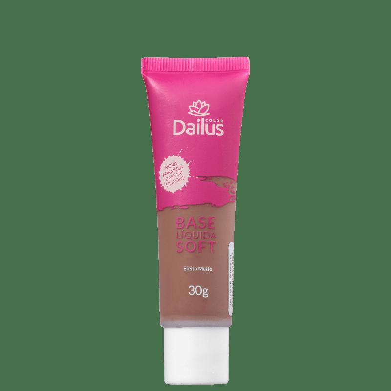 Dailus Soft 14 Marrom Escuro - Base Líquida 30g