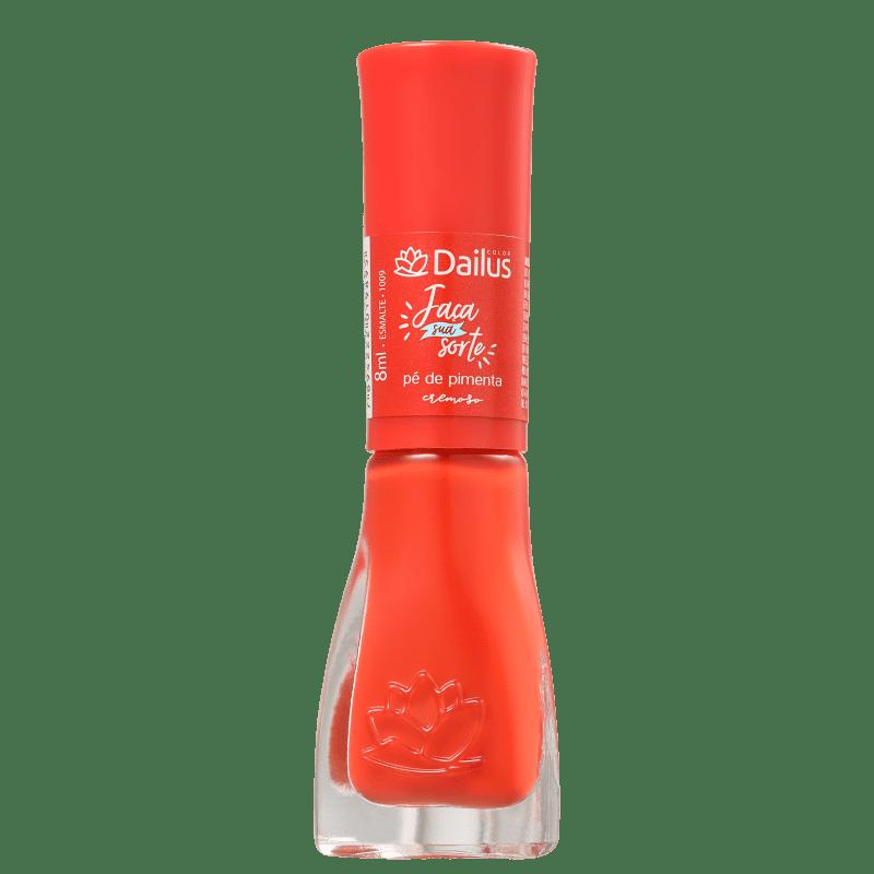 Dailus Faça Sua Sorte Pé de Pimenta - Esmalte Cremoso 8ml