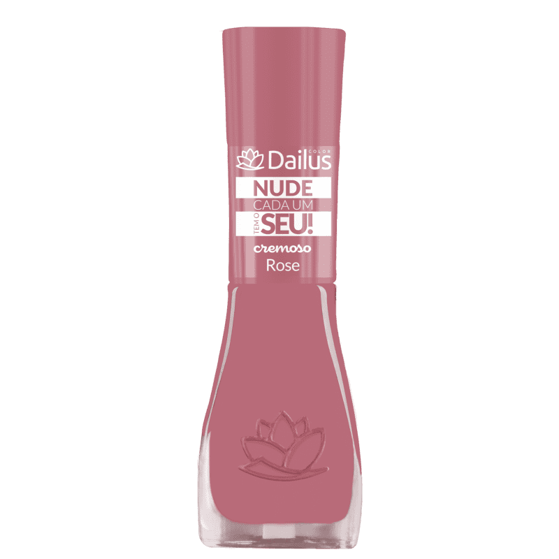 Dailus Nude Cada um Tem O Seu! 04 Rose - Esmalte Cremoso 8ml